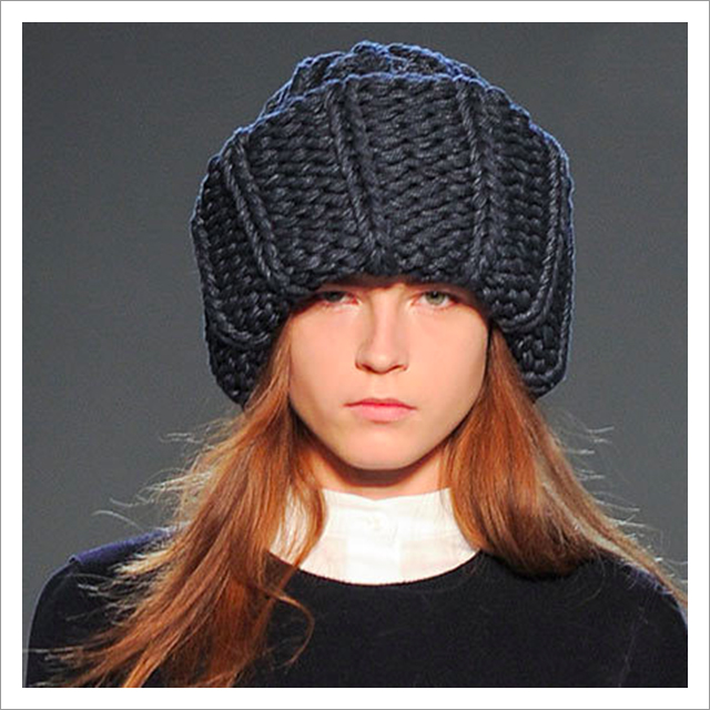Above  Beanie by Victoria Beckham c5aed8e20c6
